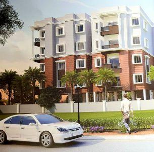 3 BHK 1100 sq. ft. Flat / Apartment for Sale in Chandrasekharpur, Bhubaneswar