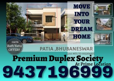 3 BHK 1900 sq. ft. Duplex for Sale in Patia, Raghunathpur, Bhubaneswar